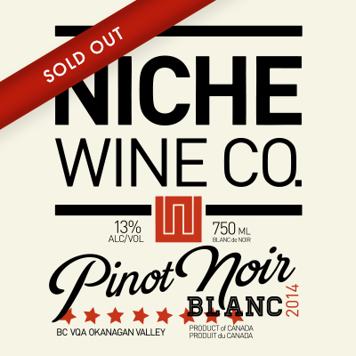 2014 Pinot Noir Blanc CLICK FOR DETAILS >