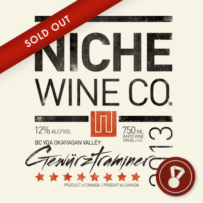2013 Gewurztraminer Award: WineAlign | Bronze Medal CLICK FOR DETAILS  >