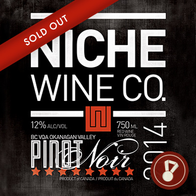 2014 Pinot Noir Award: Vancouver Magazine Winner CLICK FOR DETAILS >
