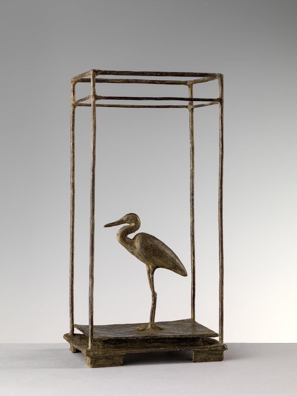 21. Heron, 'Airone' by Nicola Lazzari 22cm H x 10cm W x 8cm D.jpg
