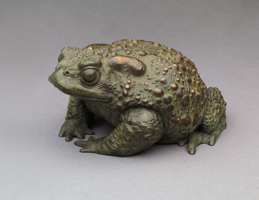 10. Toad II by Nick Bibby, Edition of 25, 3 x 6 x 5inches (8 x 15 x 13cm).jpg
