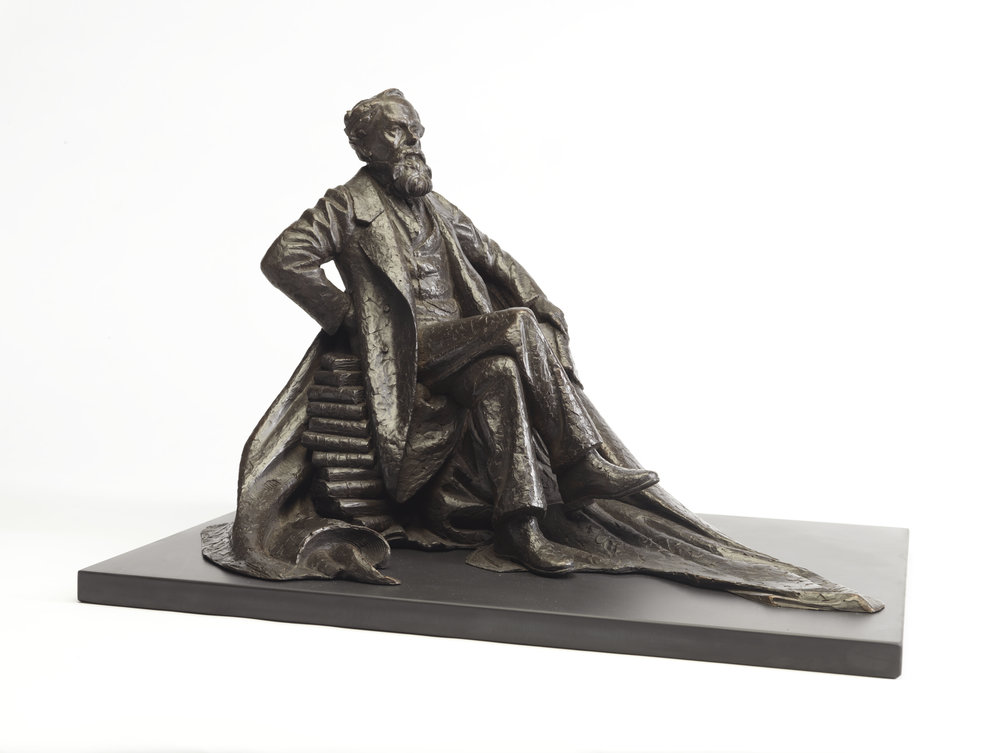 37. Charles Dickens maquette.