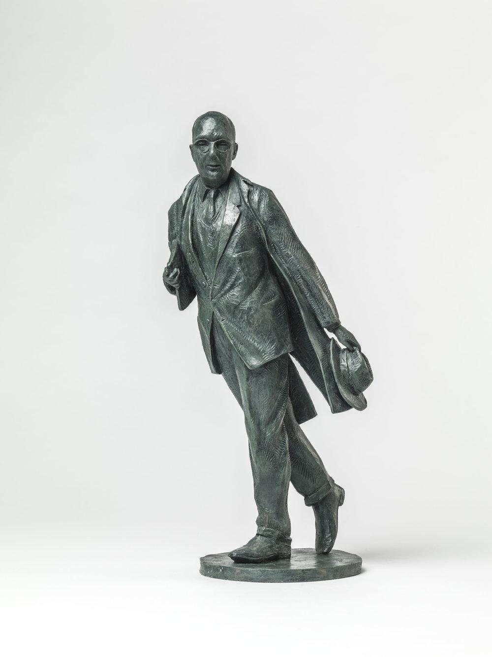 41. Philip Larkin maquette.