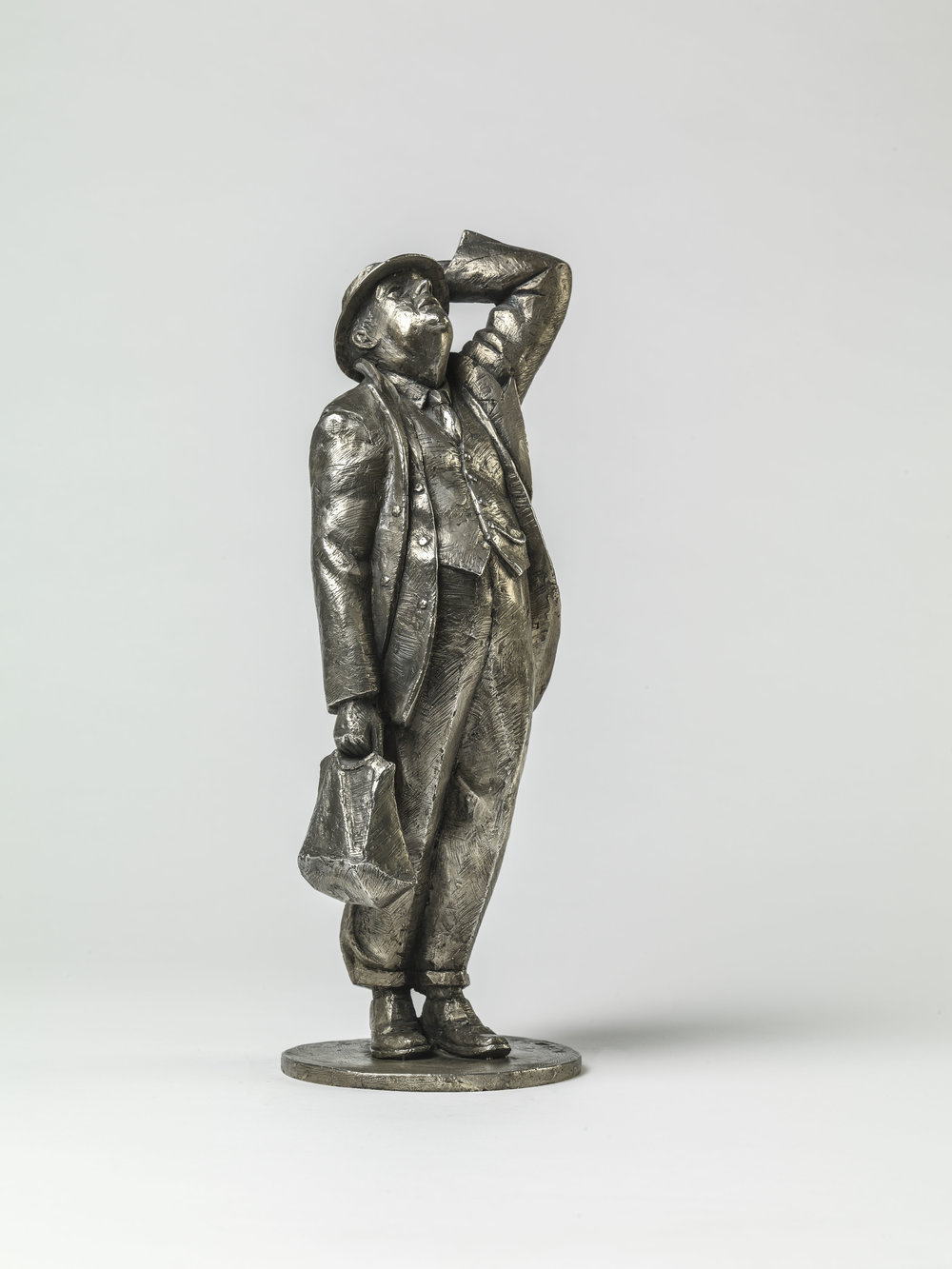 39. John Betjeman maquette.