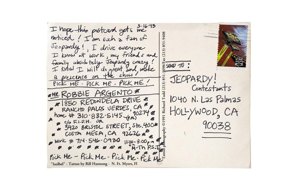 Mr. Robbie Argento, Rancho Palos Verdes, California