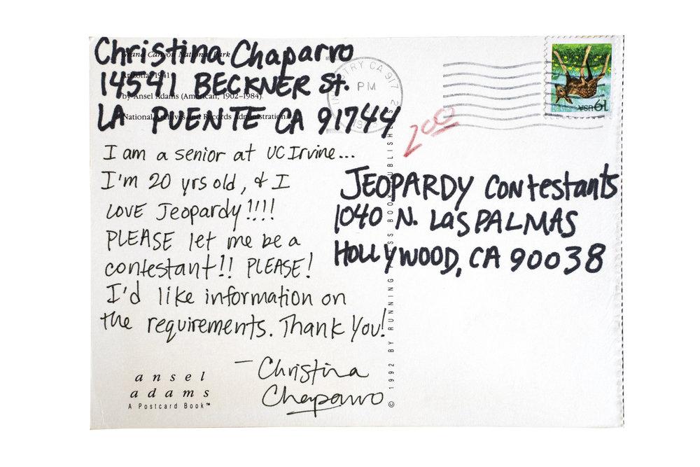 Christina Chaparro, La Puente, California