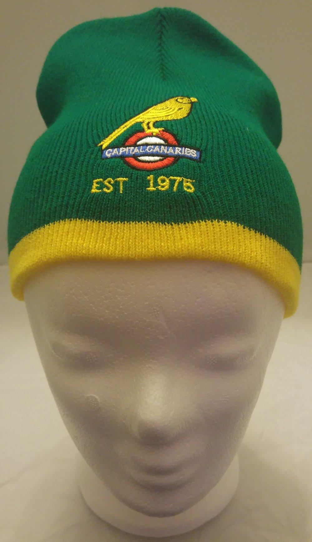 Green Caps Beanie Hat — Capital Canaries 14be386b89f