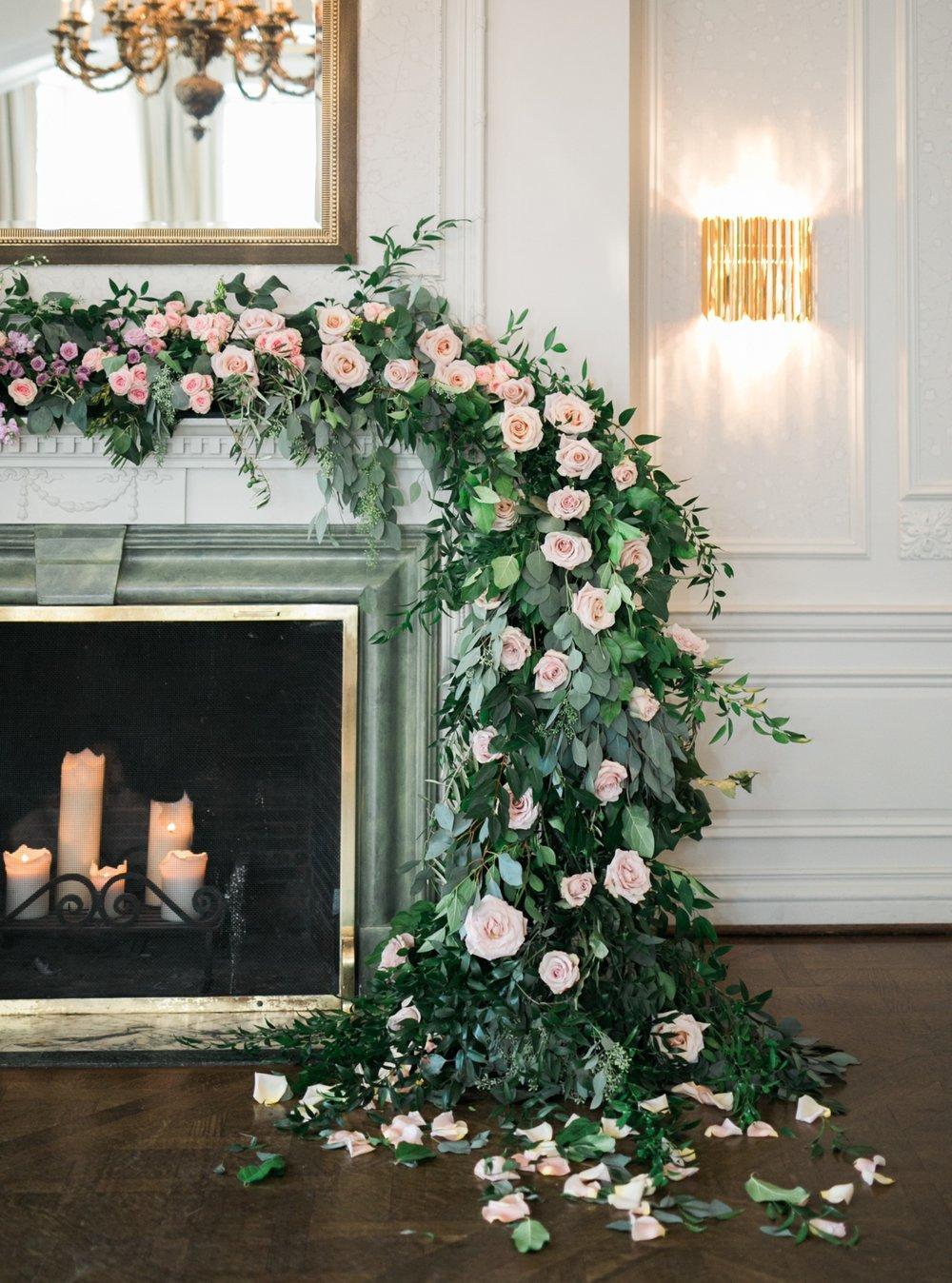 Fairytale Wedding Ceremony Garland
