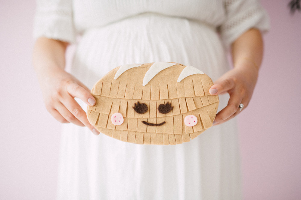 Bun mini pinata - Bun In The Oven Baby Shower (Style Me Pretty & SMP Living)