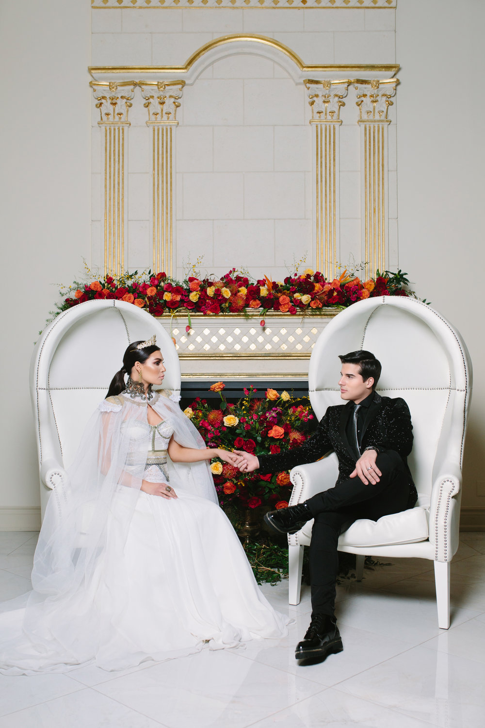 Editorial - Love, Balmain (Wedluxe)