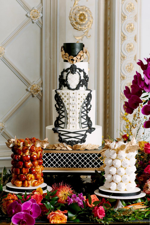 Luxe cake - Love, Balmain (Wedluxe)