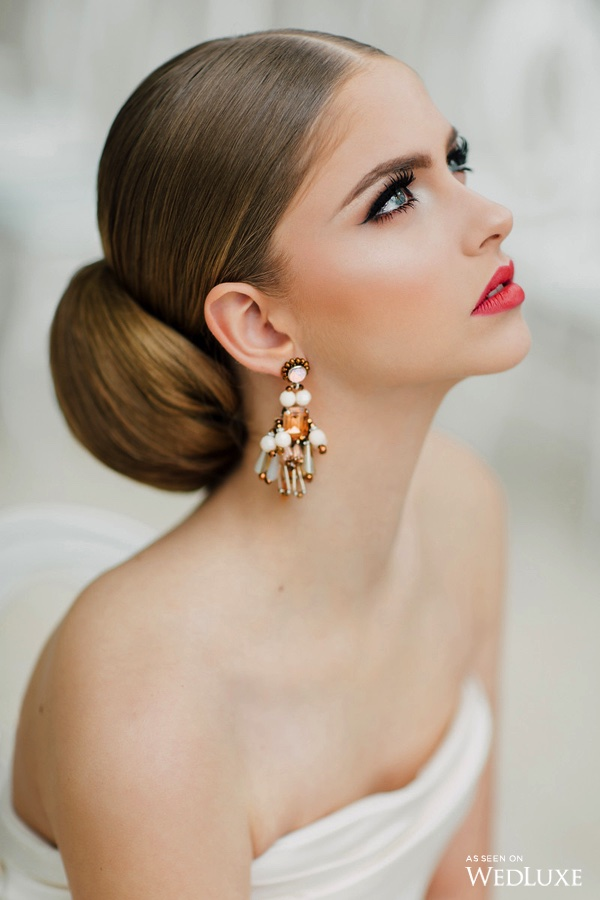 Bride beauty - Dreaming of Oscar (Wedluxe)