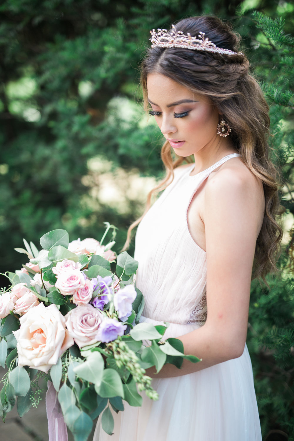 Pastel bouquet - Fairytale Wedding (Wedluxe)