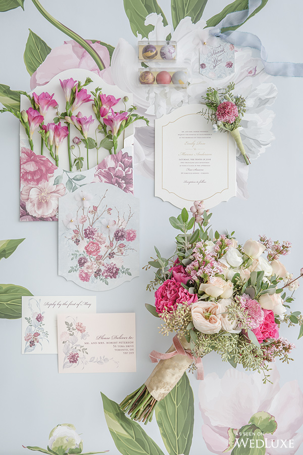 In Full Bloom - Wedluxe Editorial