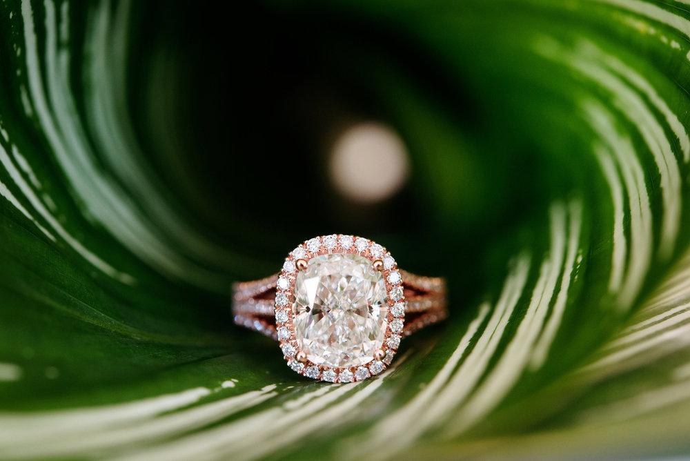 Rose gold ring - Palma Dolce (Wedluxe)