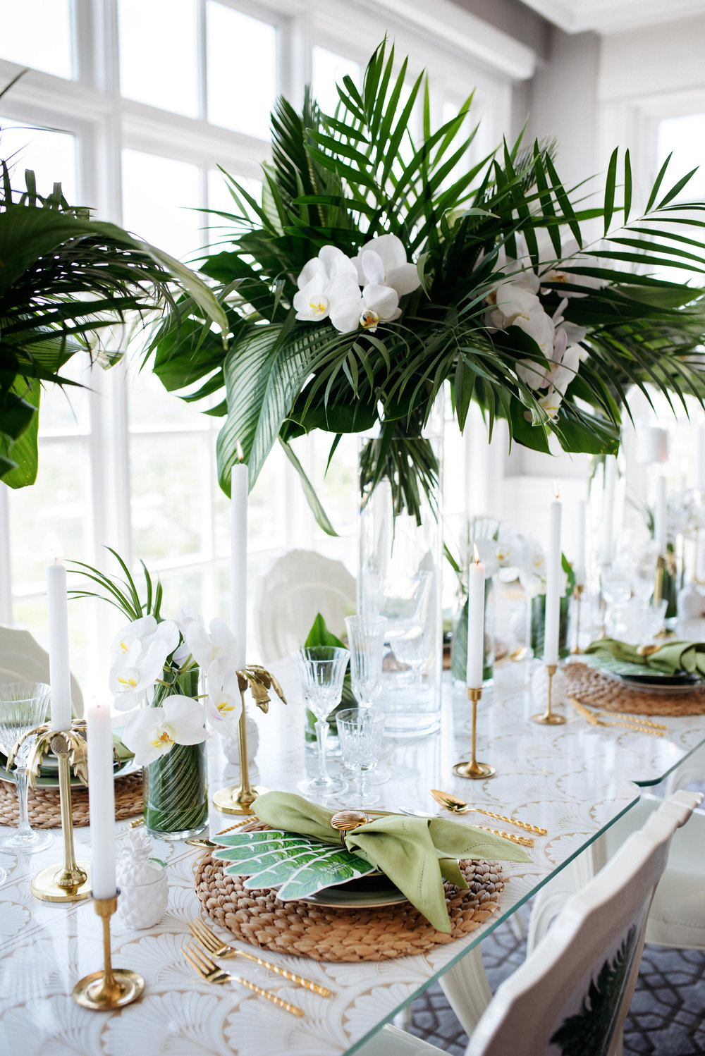 Tropical cocktail hour bride beauty - Palma Dolce (Wedluxe)