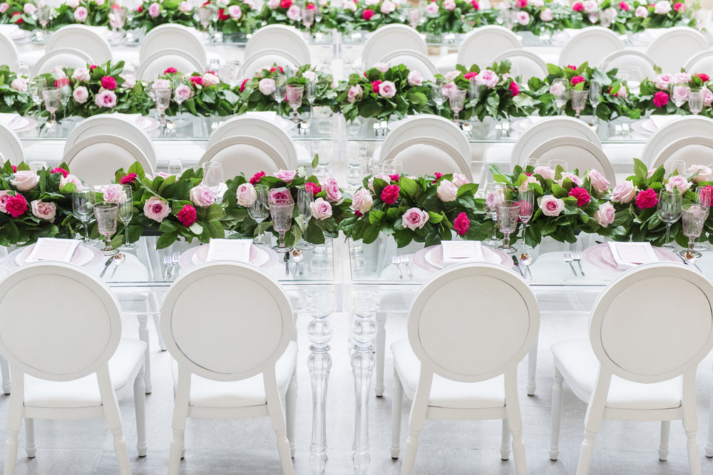 Garden reception - Dior Darling (Wedluxe)