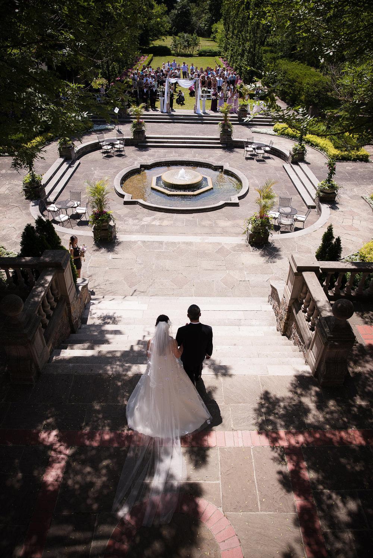 Photo by  Luminous Weddings .