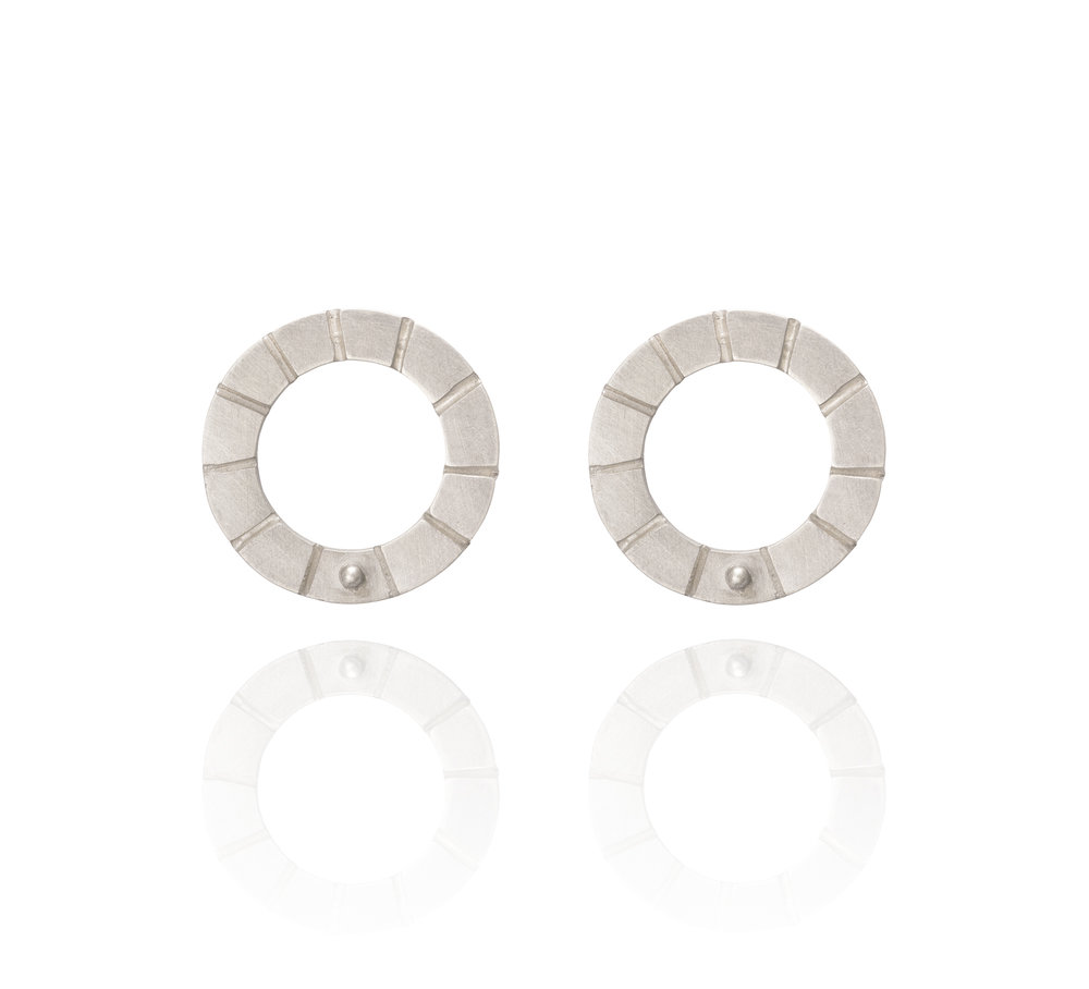 Notched Hoops £100