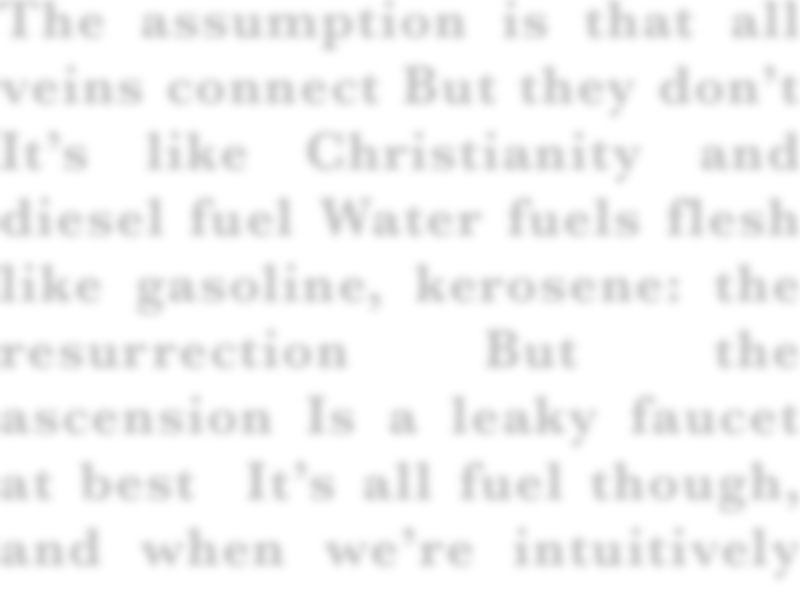 ASSUMPTION / FUEL By Nate Maxson
