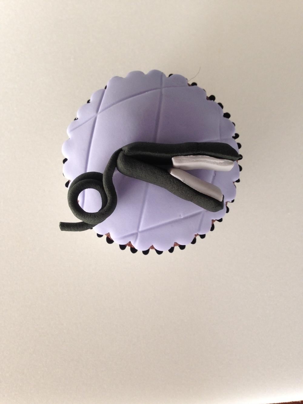 Straightening Iron Cupcake