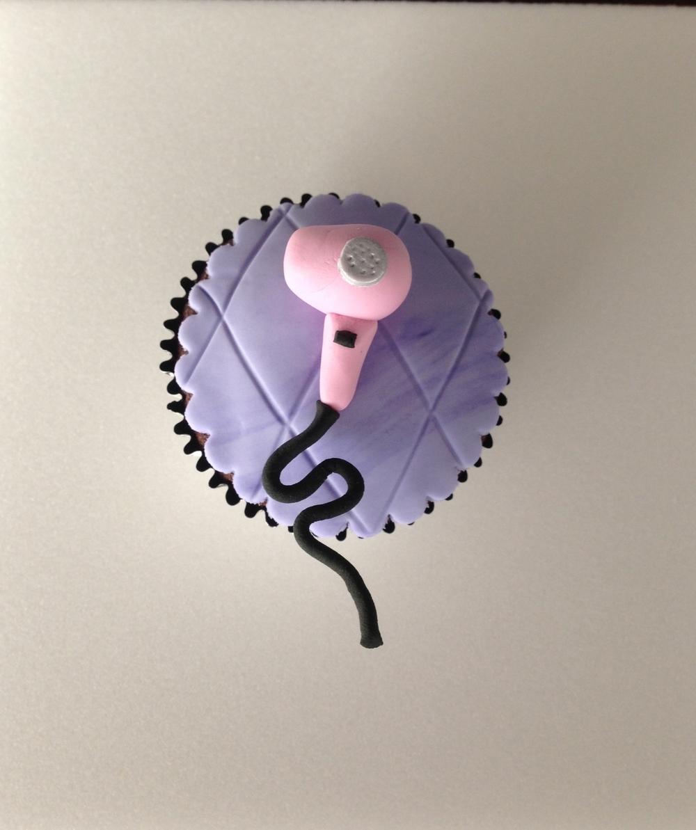 Blowdryer Cupcake