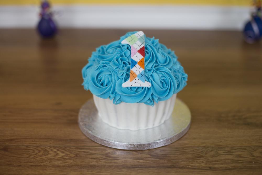 Argyle Smash Cake