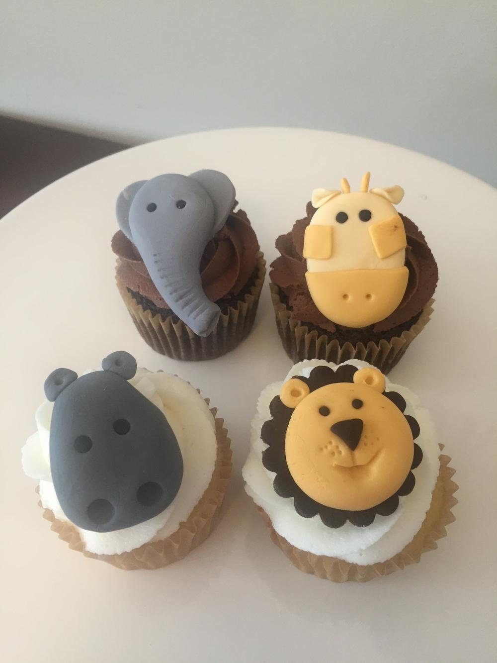 Safari Cupcakes