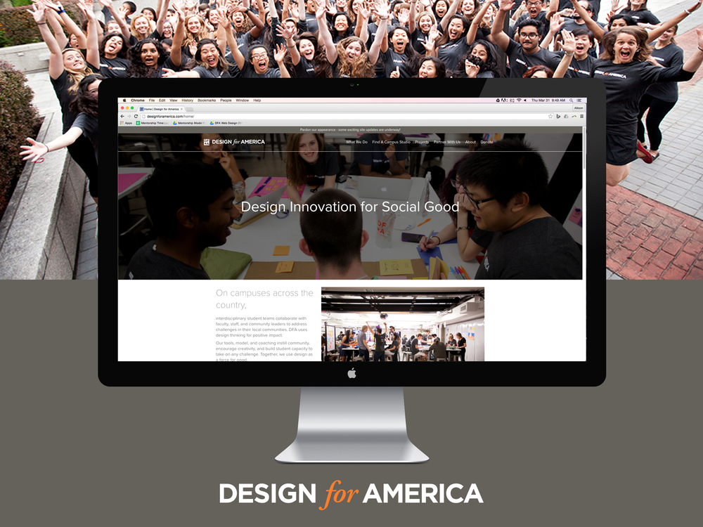 Design for America Website