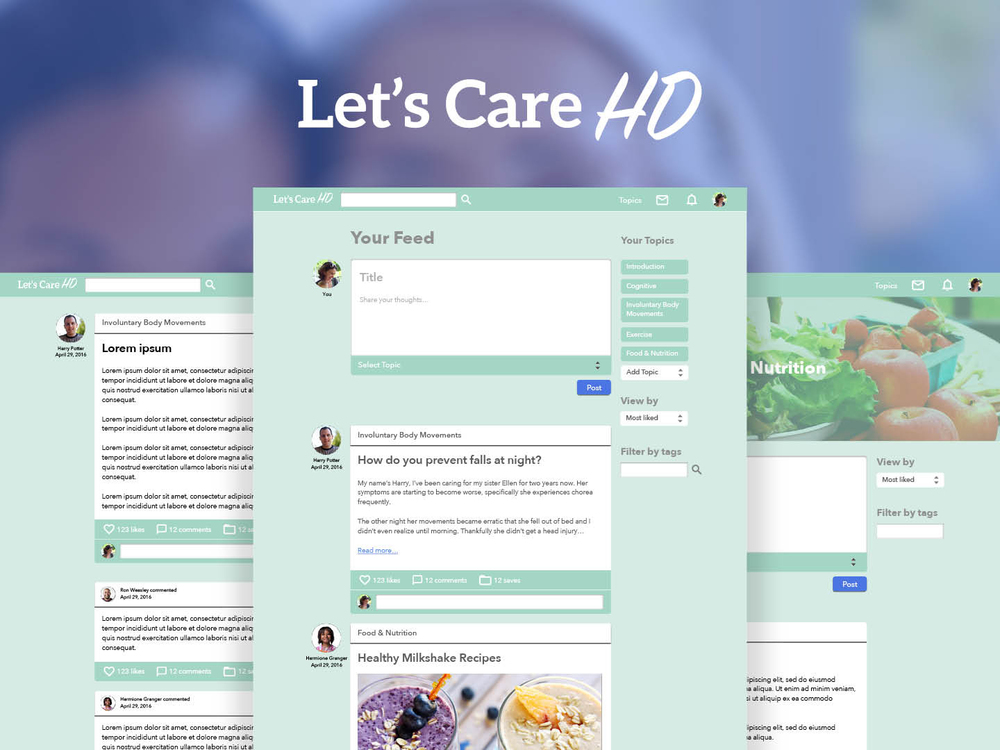 Let's Care HD