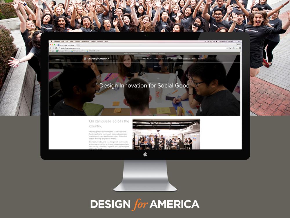 Design for America Website