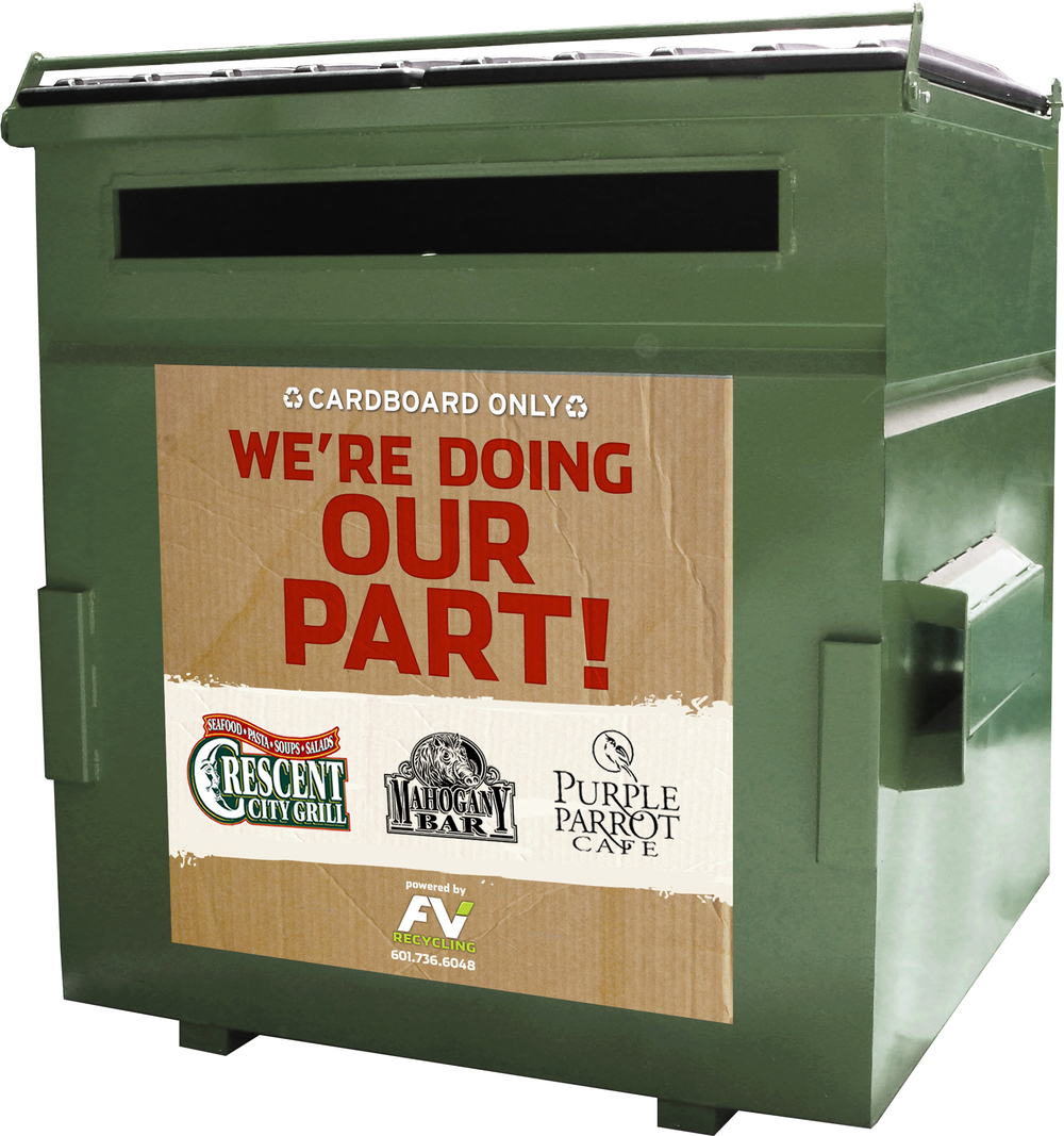 CLICK THE DUMPSTER FOR MORE INFORMATION!