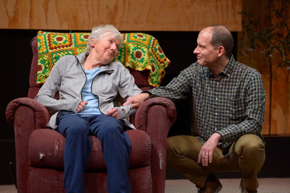 with Joy Carlin in Marjorie Prime, Marin Theater Company, 2018