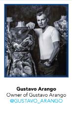 Gustavo Arango, Designer & Owner of Gustavo Arango