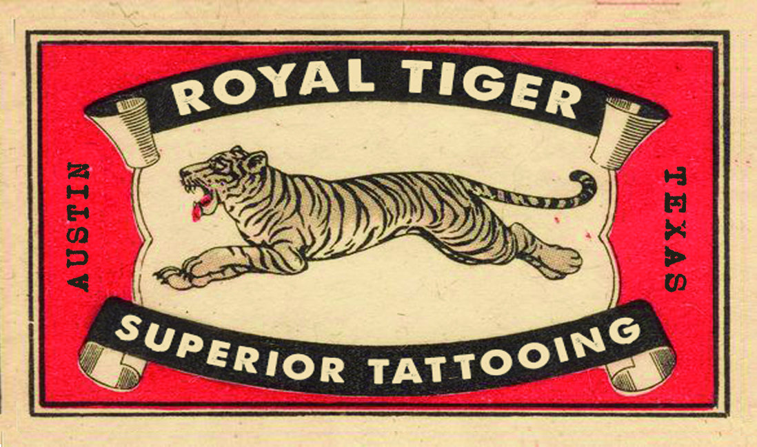 Royal Tiger Tattoo