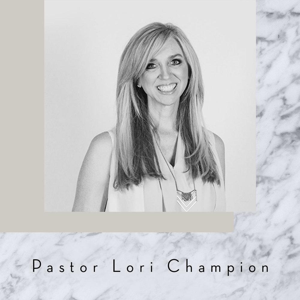 Pastor Lori Champion