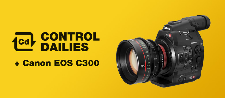 MTI Film Introduces Control Dailies Support For The Canon C300 — MTI