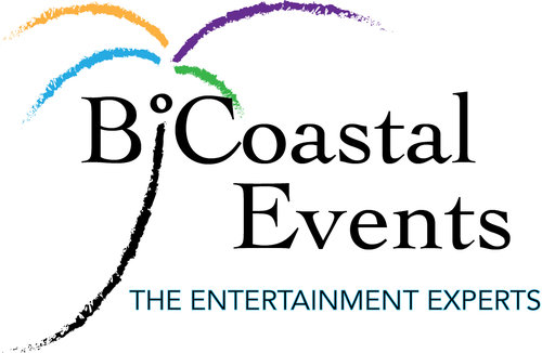 BiCoastal Events logo design