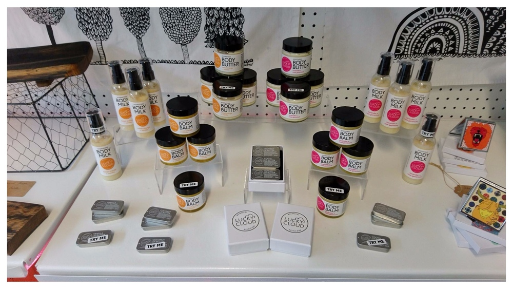 Lucky Cloud Skincare at The Creative Showroom