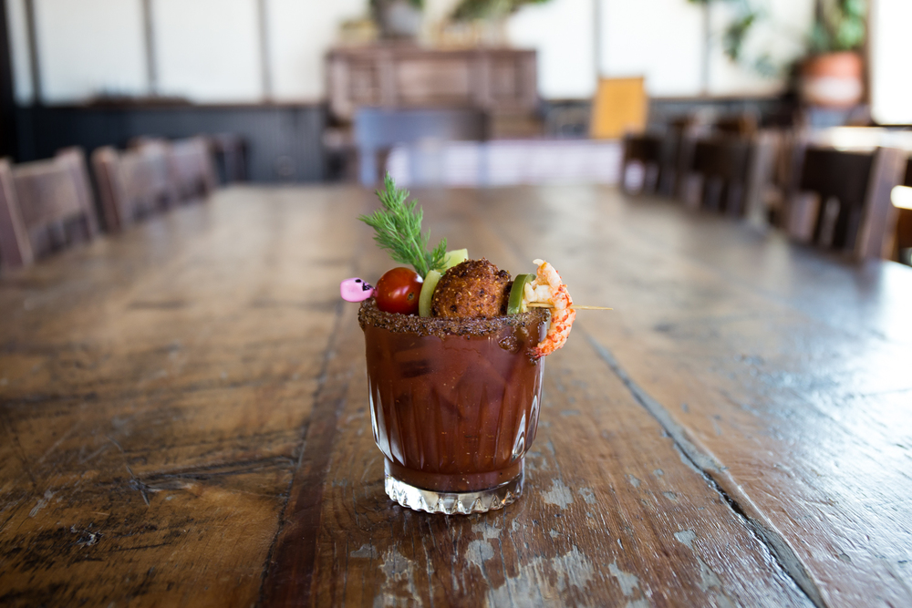 Dig a Pony's Blood on the Bayou, the winning drink in the Bloody Mary Bloc Party competition.