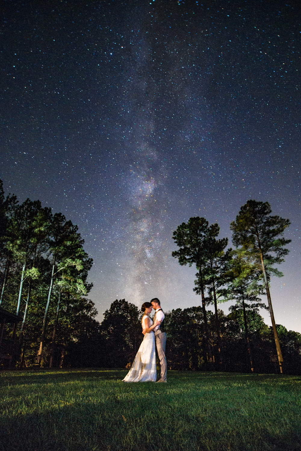 Here is another image I really love. Sure, the Milky Way is exploding forth in all of it's glory from their heads. But when I see this image I think of Dan and Mindy. And the story they shared with everybody about their struggles, about their faith and what motivates their love for each other. And honestly this one is not my favorite image from their day. This one is.