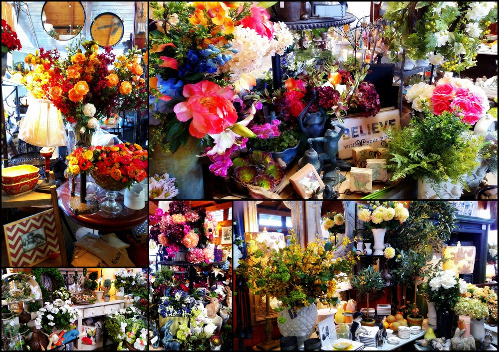Lots of new high quality silk flowers that can easily be mistaken for the real thing!
