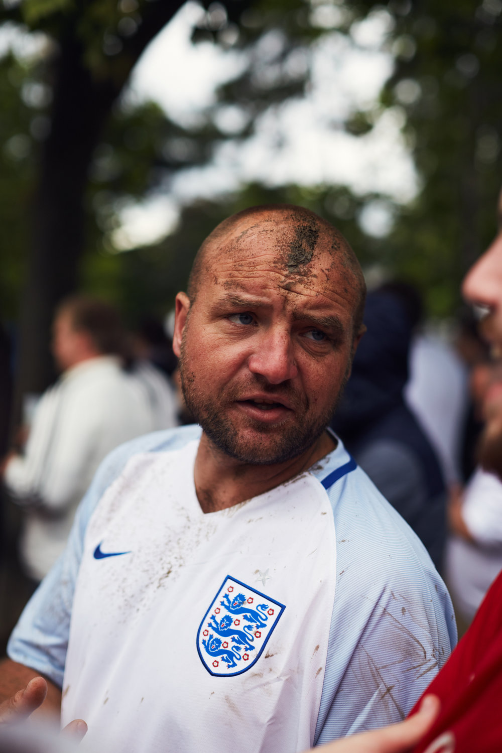England fan, Eiffel Tower fanzone, Euro 2016