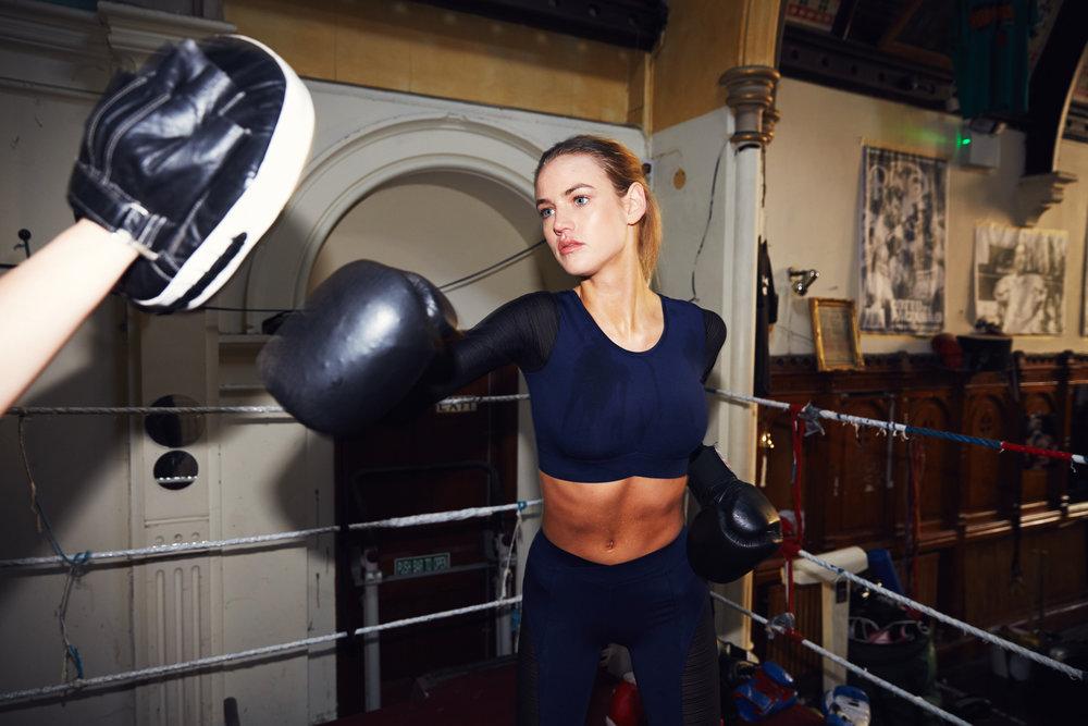 Vanessa / Training