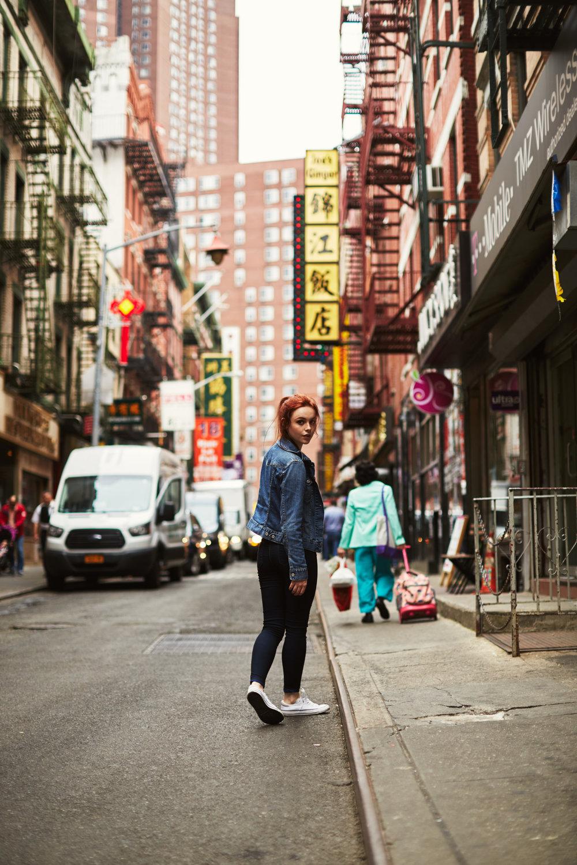 Megan Bea Tiernan /Chinatown, NYC