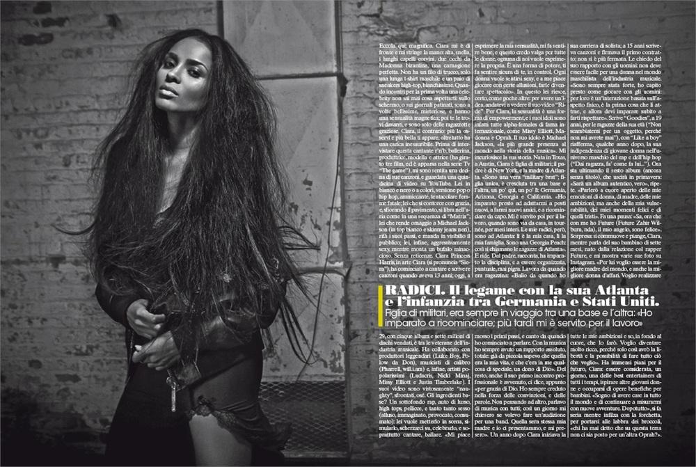 Ciara/L'uomo Vogue  Jan