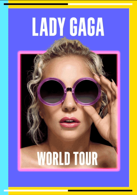 LadyGaga World tour 2017