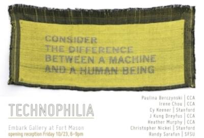 Technophilia   10.23.15-12.05.15