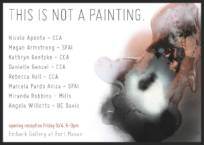 This is Not a Painting 09.04.15-10.10.15