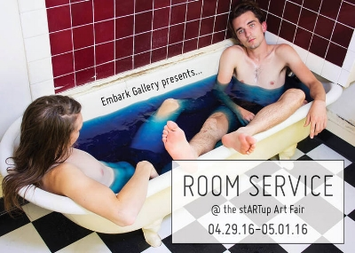Room Service: Embark Gallery at the stARTup Art Fair 04.29.16-05.01.16